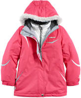 ZeroXposur Girls 7-16 Christine Heavyweight Faux-Fur Trim Systems Jacket