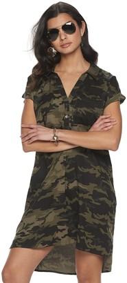 Rock & Republic Women's Rolled Sleeve Dress