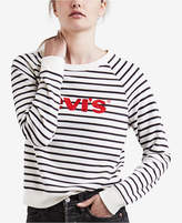 Levi's Striped Logo-Graphic Sweatshirt
