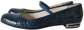 Bally Blue Patent leather Ballet flats