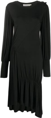 Preen Line Ruched Midi Dress