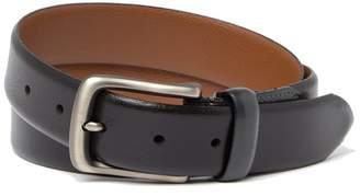 Boconi Leather Embossed Logo Belt