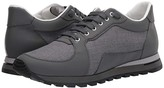 Canali Nylon/Rubber Leather Runner (Grey) Men's Shoes