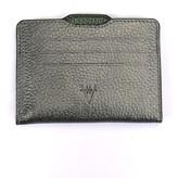 Atelier Hiva Double Card Holder Metallic Anthracite & Metallic Green