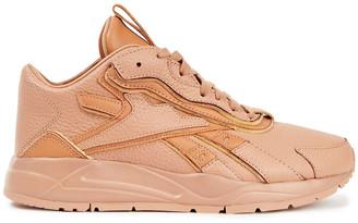 Reebok x Victoria Beckham Textured-leather Sneakers