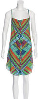 Mara Hoffman Abstract Print Sleeveless Dress