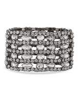 Jon Richard crystal cuff bracelet