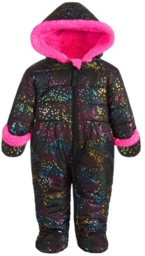 S. Rothschild Baby Girls Rainbow Dot Printed Pram