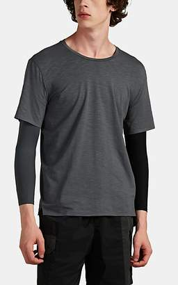 JACQUES Men's Layered Dri-Release® Compression T-Shirt - Light Gray
