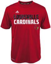 adidas Boys 4-7 Louisville Cardinals Shock Energy Climalite Tee