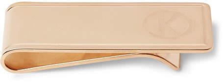Deakin & Francis Kingsman + Rose Gold-Plated Sterling Silver Money Clip