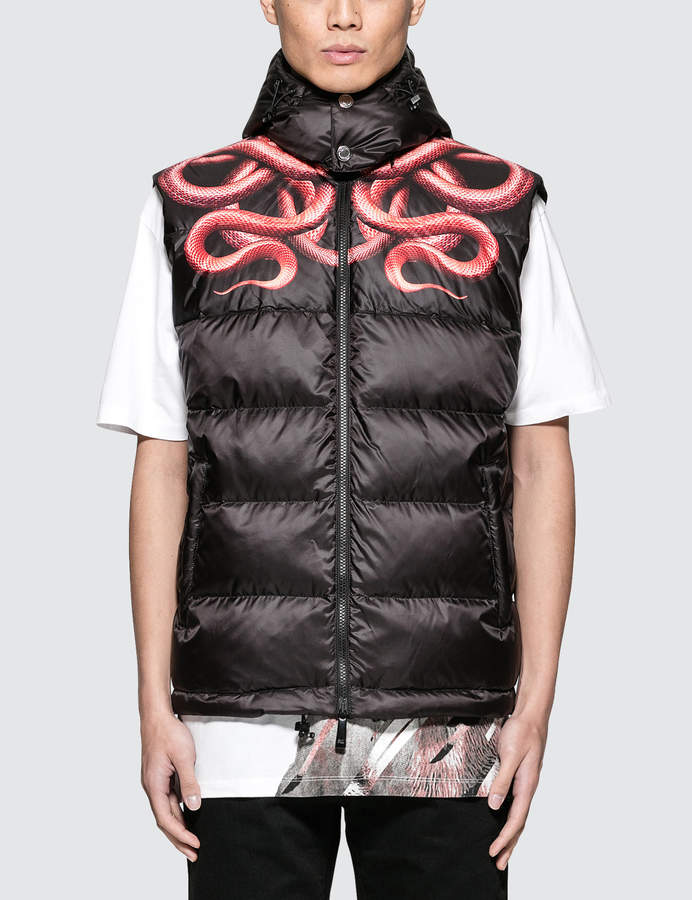 Marcelo Burlon County of Milan Snake Down Jacket