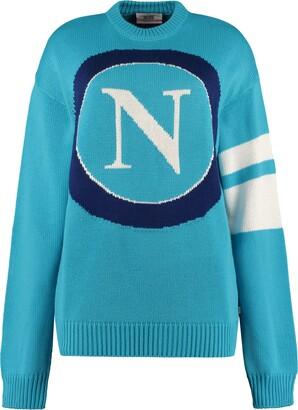 GCDS Ssc Napoli Intarsia Sweater