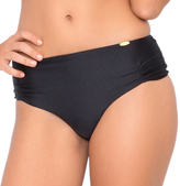 Luli Fama Cosita Buena Cheeky Tied Up Back Bottom in Black (L176563)