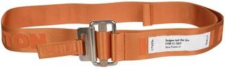 Heron Preston Classic Buckle Tape Belt