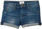 Hudson Roll Cuff Shorts (Toddler/Kid) - Hippie Sky - 5