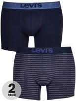Levi's Levis 2pk Stripe/plain Boxer Brief