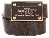 Louis Vuitton Damier Ebene Reversible Inventeur 35MM Belt