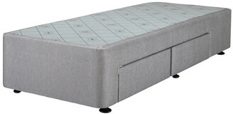 Sealy Space Saver Right Hand 2 Drawer Base Granite Grey Half