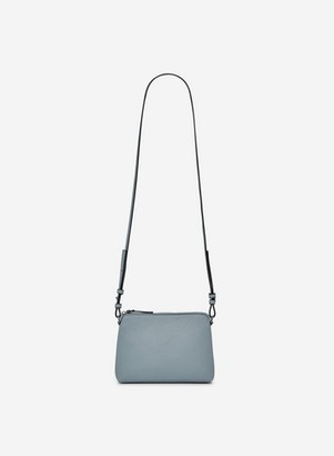 Dorothy Perkins Womens Blue Zip Top Cross Body Bag, Blue