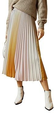 Ted Baker Noviia Pleated Ombre Skirt