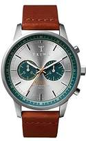 Triwa Petroleum Steel Nevil Men's Chrono Watch NEST107 CL011812