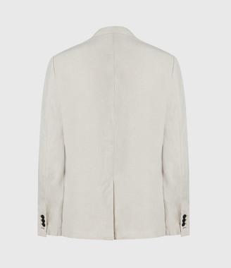 AllSaints Vaga Linen Blend Blazer