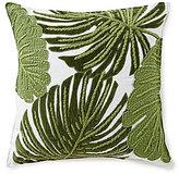 Southern Living Velvet Leaf Square Pillow