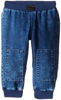 Little Marc Jacobs Denim Effect Trousers with Knees Patches Boy's Jeans