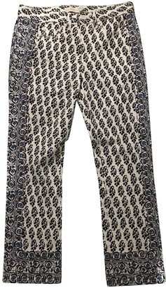 Tory Burch Anthracite Denim - Jeans Trousers for Women