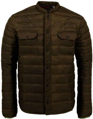 Lords Of Harlech Mao Packable Waxdown In Olive