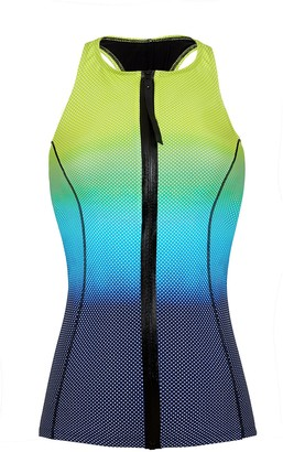 Gottex Women's Sport Ocean Reef High Neck Tankini