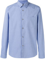 A.P.C. curved hem shirt - men - Cotton - L