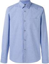 A.P.C. curved hem shirt - men - Cotton - S