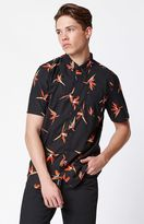 Vans Trouble In Paradise Short Sleeve Button Up Shirt