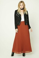 Forever 21 FOREVER 21+ Contemporary Accordion Skirt