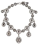 Bottega Veneta Faceted Drops Collar Necklace