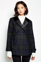 Jack Wills Bellwether Checked Coat