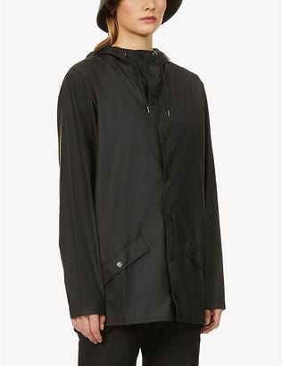 Rains Hooded shell coat