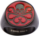 JCPenney FINE JEWELRY Marvel Hydra Logo Mens Stainless Steel Ring
