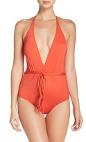 Seafolly Halter One-Piece Swimsuit