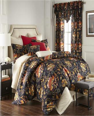 Colcha Linens Midnight Bloom Duvet Cover Set-Twin Bedding