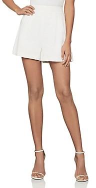 BCBGMAXAZRIA Pleated Shorts
