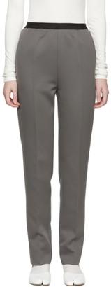 Maison Margiela Grey Pull-On Trousers