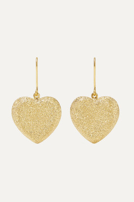 Carolina Bucci Heart 18-karat Gold Earrings
