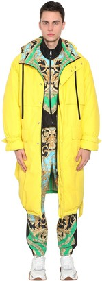 Versace Reversible Hooded Down Coat