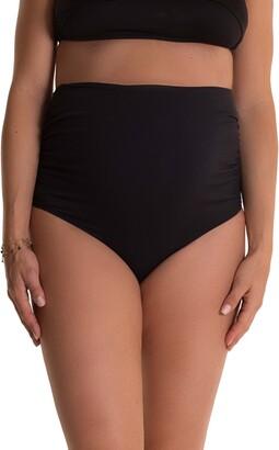 Pez D'or Lucia High Waist Maternity Bikini Bottoms