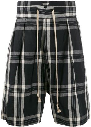 Vivienne Westwood Plaid Print Shorts