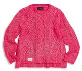 Ralph Lauren Little Girl's Aran Knit Sweater