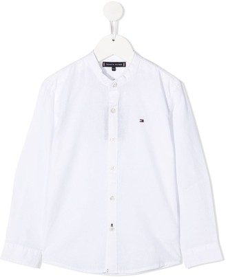 Tommy Hilfiger Junior Band Collar Shirt